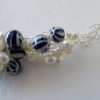 Blue Stripe and Freshwater Pearls