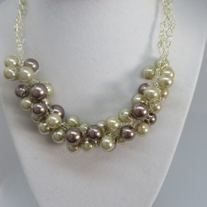 Brass and Gold Pearls