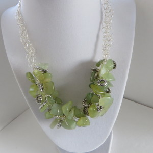 Light Lime Green Necklace