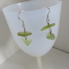 Light Lime Green Earrings