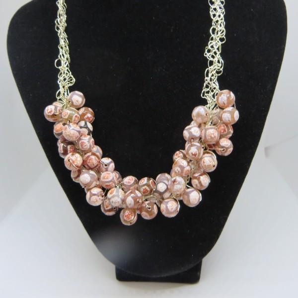 Multi-colour Agate Necklace