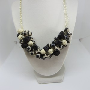Ivory and Black Necklace