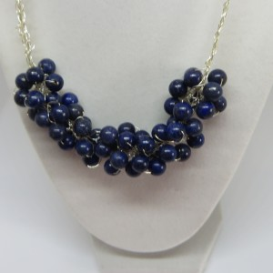 Lapis Navy Blue Necklace