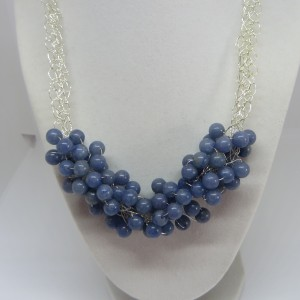 Light Blue Angelite Necklace